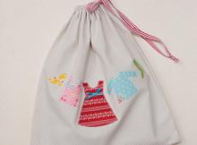 Travel Laundry Bag | Free Pattern