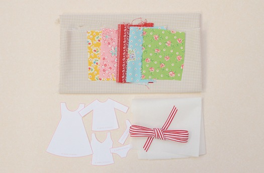 When on vacation, keep your clean and dirty clothes separated with this free travel laundry bag pattern. The applique template is so cute!