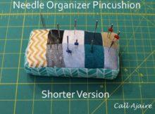 Needle Organizer Pincushion | Free Pattern