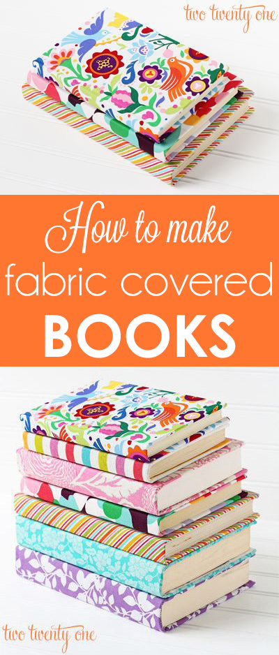 Fabric Covered Book Tutorial