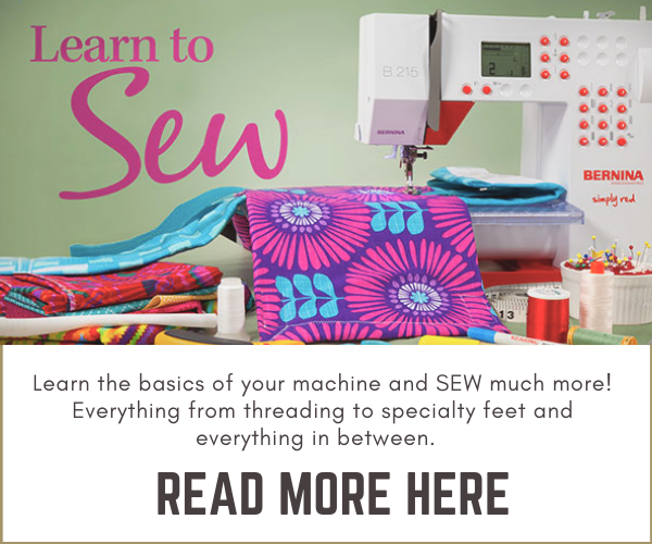 Sewing Machine Class - Learn to Sew - Sewing With Scraps