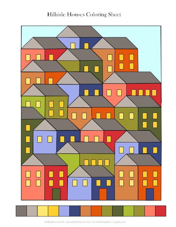 Planning the Hillside Houses Quilt