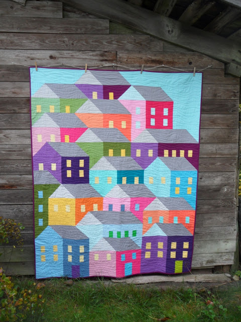 Hillside Houses Quilt