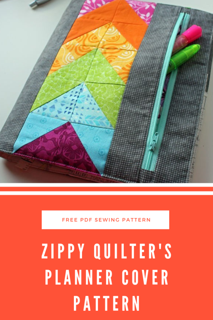 Zippy Quilter's Planner Cover