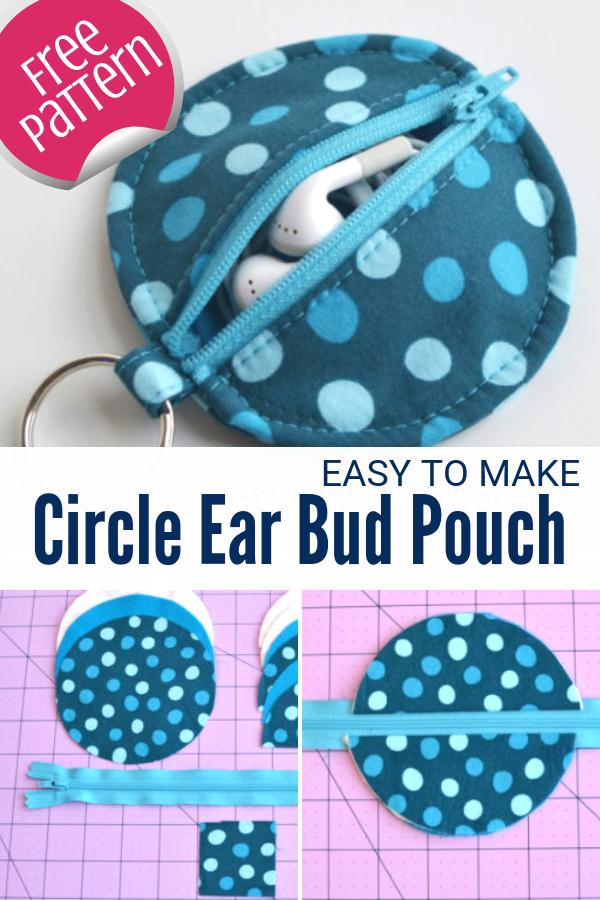 Ear Bud Pouch | Free Pattern