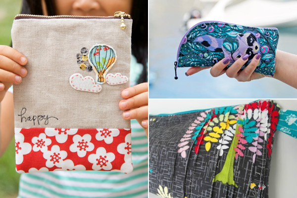 Free Zipper Bag Patterns | Sewing With Scraps