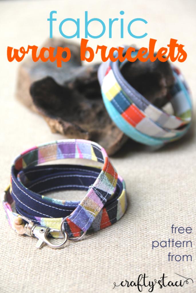 Free Fabric Bracelet Pattern