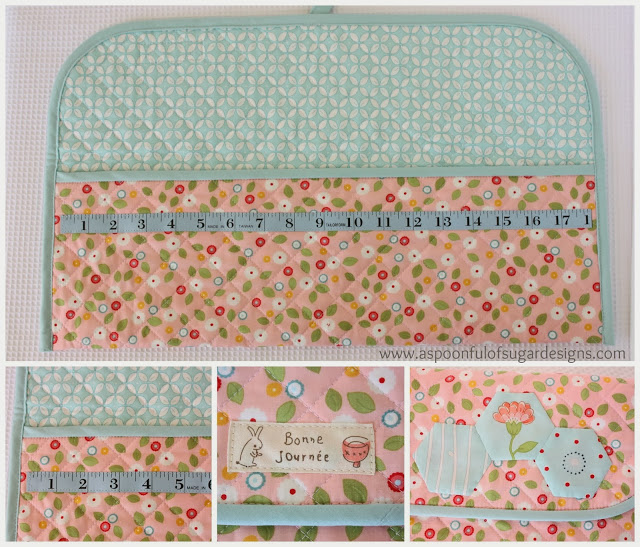 Knitting and Crochet Pouch Tutorial