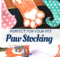 Free paw stocking pattern for your pet.