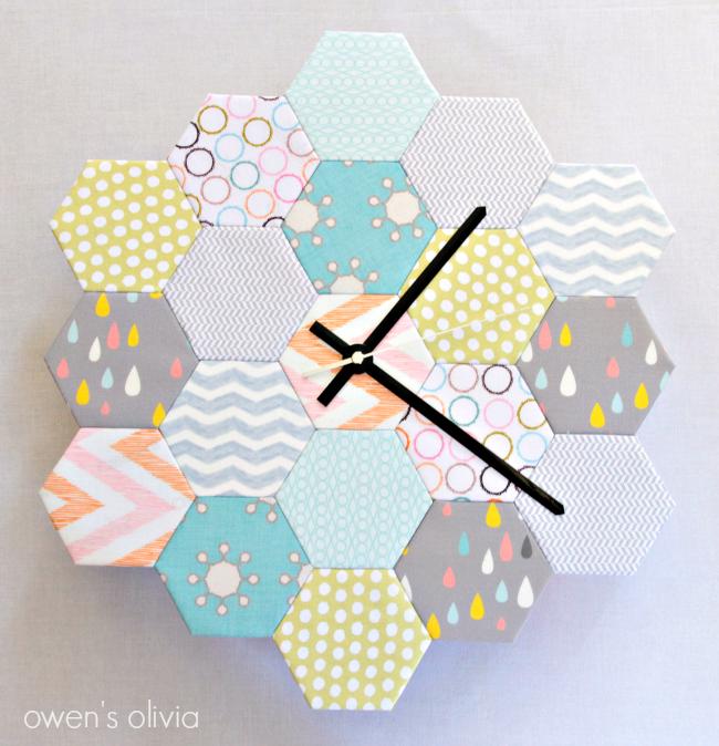Hexagon Wall Clock Tutorial