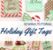 Holiday Gift Tags Free Sewing Tutorial