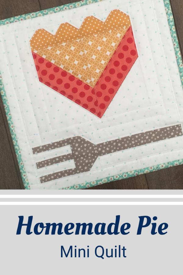 Pie Slice Mini Quilt Pattern
