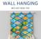 DIY Wall Hanging With Yarn Tassel Trim