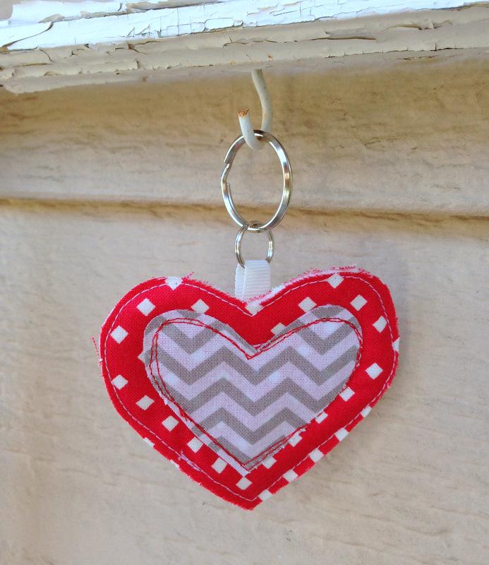 heart keychain tutorial