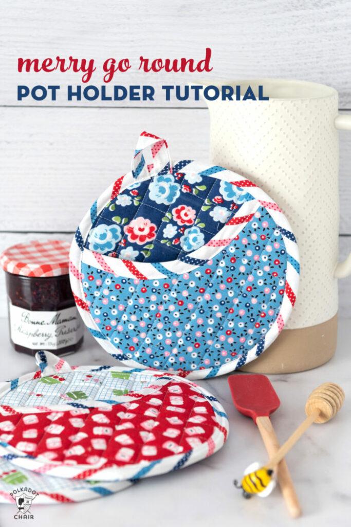 Merry Go Round Pot Holder Tutorial