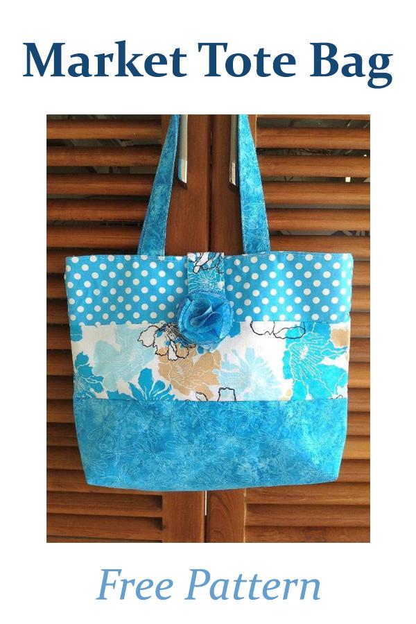 Market Tote Bag | Free Pattern