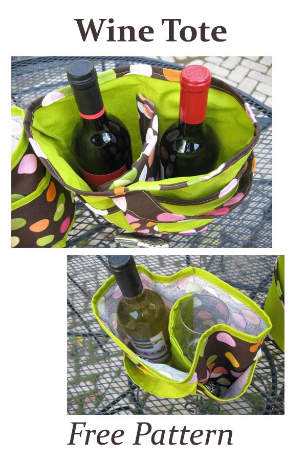 Wine Totes FREE pattern