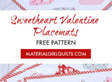 Free Valentine's Day Placemats Pattern