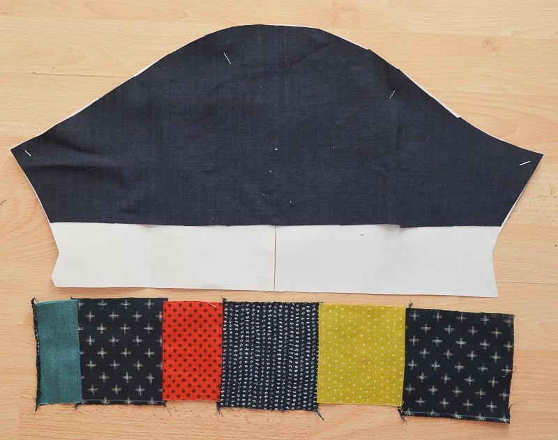 Color Block Top with Scraps