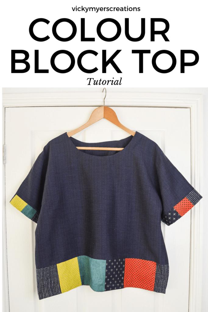 Scrappy Color Block Top