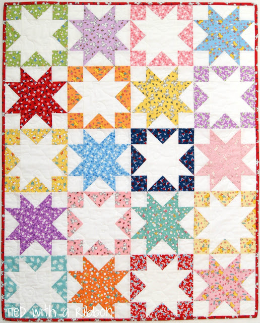 Turn your scraps into a playmat with this adorable Toy Chest pattern.