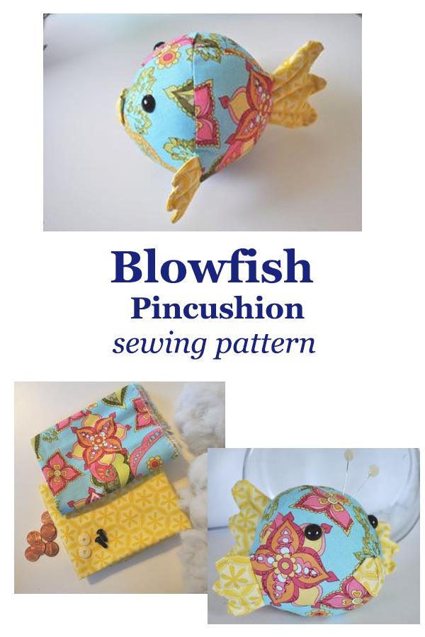 Blowfish Pincushion