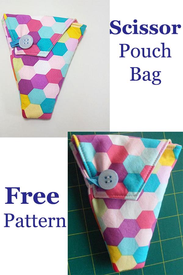 Scissor Pouch Bag Free Pattern