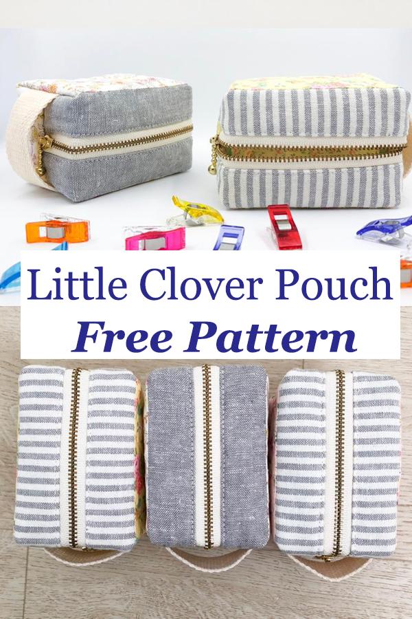 Little Clover Pouch Free Pattern