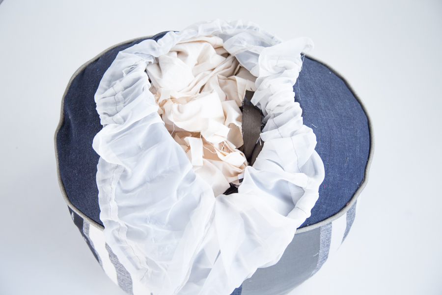 Pouf Sewing Tutorial Perfect for Scrap Busting