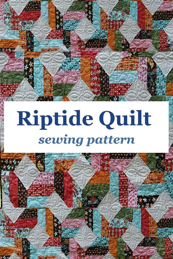 Riptide Quilt Pattern
