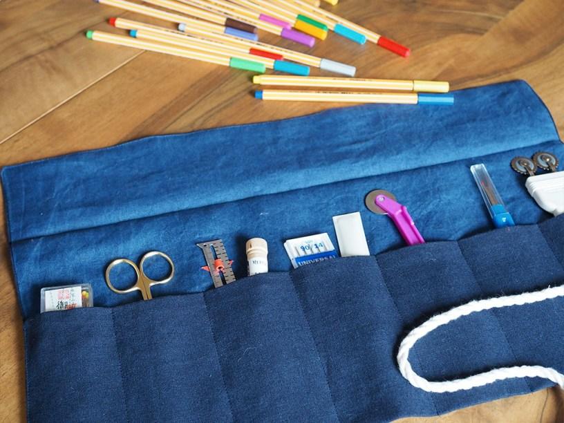 DIY Pencil Roll Tutorial