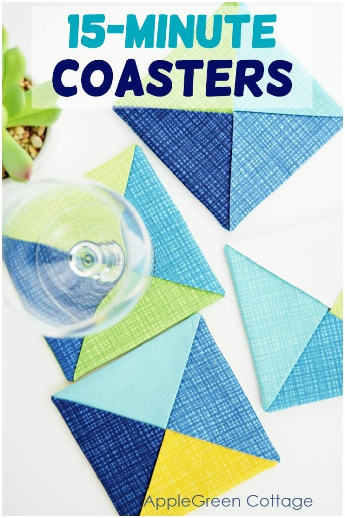 15-Minute Coaster Sewing Tutorial