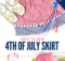 Free 4th of July Skirt Sewing Pattern