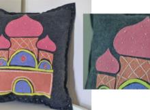 Folk Art Pillow