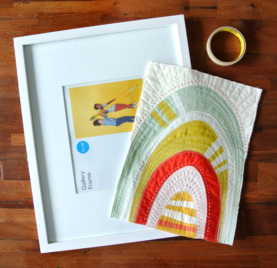 How to Frame a Mini Quilt