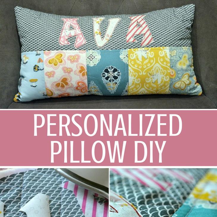 DIY Personalized Pillow Tutorial