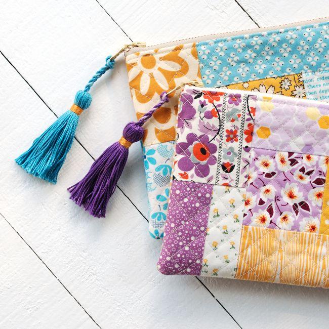 Tassel Zipper Pouch Sewing Tutorial