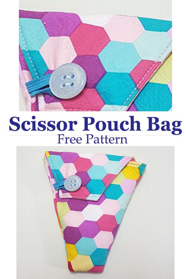 Scissor Pouch Bag | Free Pattern