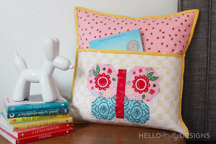 Free Butterfly Reading Pillow Tutorial