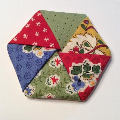 Fast and Easy Coaster to use up scraps