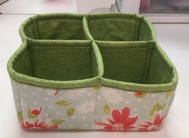 Cube storage container sewing pattern