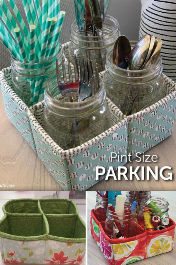 Pint Size Parking Sewing Pattern perfect for organizing