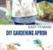 DIY Gardening Apron to Sew