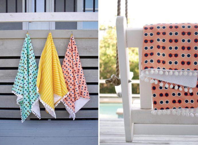 DIY Beach Towel Sewing Tutorial