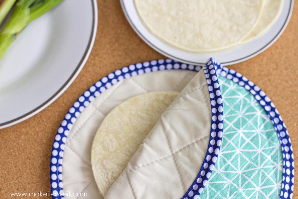 DIY Tortilla Warmer Tutorial