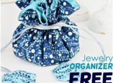 Jewelry Organizer Sewing Pattern