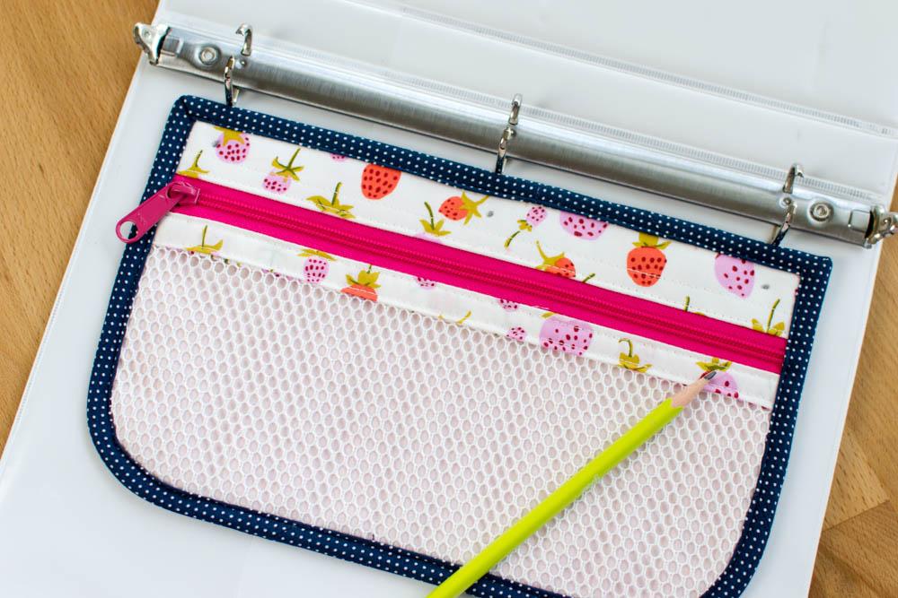 Binder Zipper Pouch Sewing Tutorial