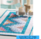 Sunset at the Beach Quilted Table Runner Pattern and Video