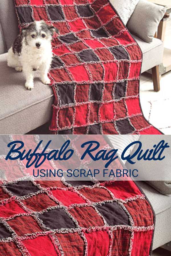 Buffalo Plaid Rag Quilt Pattern and Video Tutorial
