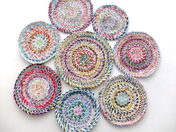DIY Fabric Twine Rug Tutorial